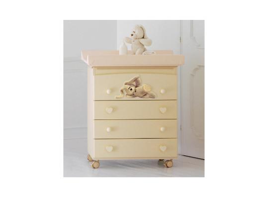 Комод пеленальный с ванночкой Baby Expert Cremino (крем) комплект italbaby комплект мебели baby expert cuore кровать пеленальный комод трюмо шкаф крем зе��еный
