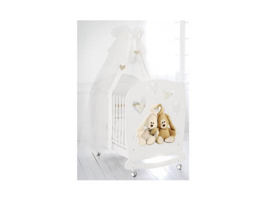 Кроватка-качалка Baby Expert Cremino Lux (белый) totoro fridge stickers fridge magnite magnetic stickers car style home decor cell decor cartoon animal action figure toys