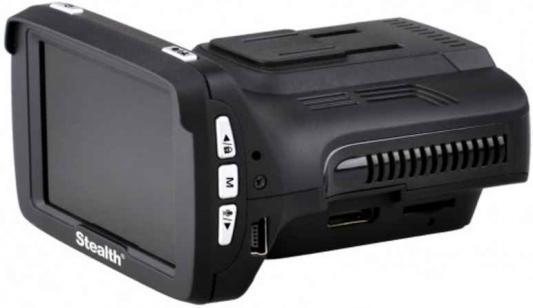 Видеорегистратор Stealth MFU 640 1920x1080 120° GPS microSD microSDHC с радар-детектором
