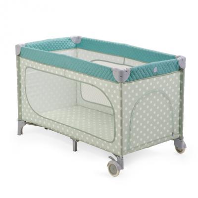 Кровать-манеж Happy Baby Martin (blue)