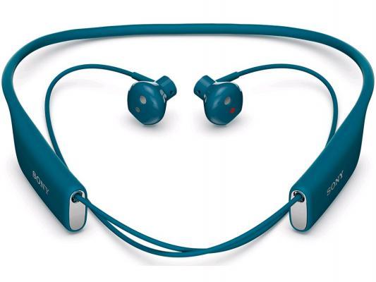 Bluetooth-гарнитура SONY SBH70 синий