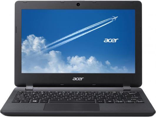 """Ультрабук Acer TravelMate TMB116 11.6""""/1366 x 768/Intel Celeron N3050/500/Intel HD Graphics/Используется часть оперативной памяти/черный/Без ОС [NX.VB8ER.004]"""