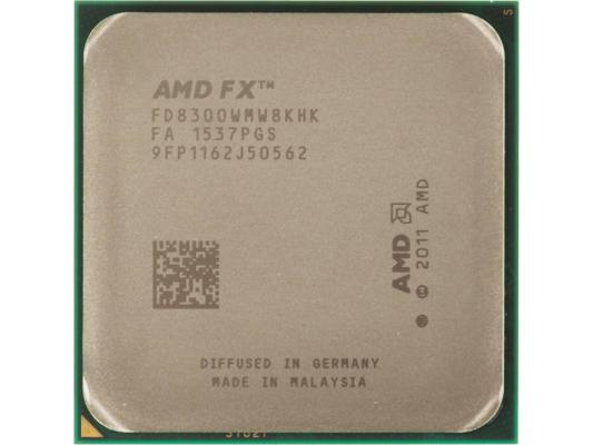 Процессор AMD FX-8300 FD8300WMHKBOX 3.3GHz Socket AM3+ BOX процессор amd fx 8370 vishera 4000mhz am3 l3 8192kb fd8370frw8khk tray
