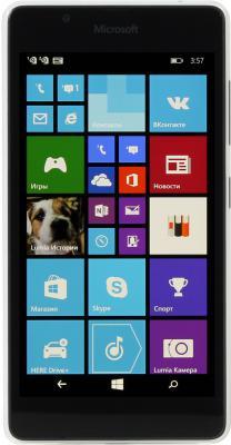 "Смартфон Microsoft Lumia 540 Dual Sim белый 5"" 8 Гб GPS Wi-Fi"