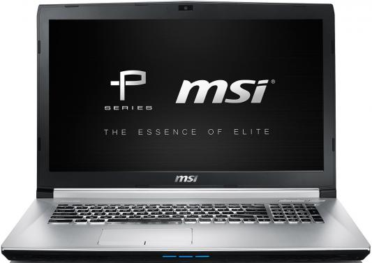 "Ноутбук MSI PE70 6QD-064XRU 17.3"" 1920x1080 Intel Core i7-6700HQ 9S7-179542-064"
