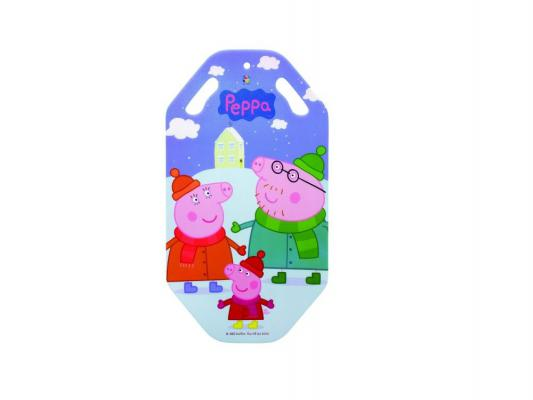 Купить Ледянка 1Toy Peppa до 100 кг рисунок пластик Т57000, Peppa Pig, Ледянки