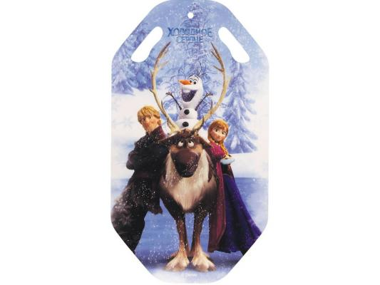 Ледянка 1Toy Disney Холодное сердце рисунок пластик Т57257 ледянка 1toy transformers рисунок пластик т56911 двойная
