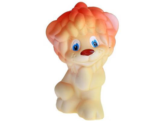 Резиновая игрушка для ванны Огонек Львенок Солнышко 13 см с-1044 игрушка огонек черепаха соня с 923