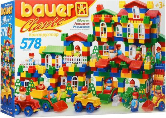 Конструктор Bauer Classik 201 578 элементов конструктор bauer bauer конструктор classic new 578 элементов