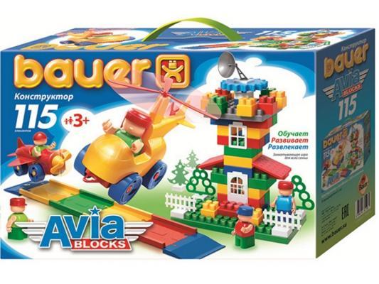 Конструктор Bauer Авиа 245 115 элементов конструктор bauer питон 58 элементов
