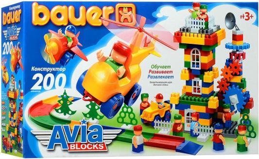 Конструктор Bauer Авиа 200 элементов 246 конструктор bauer питон 58 элементов