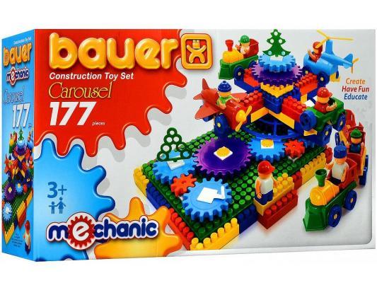 Конструктор Bauer Карусель 177 элементов 186 игрушка конструктор bauer avia 319 188083