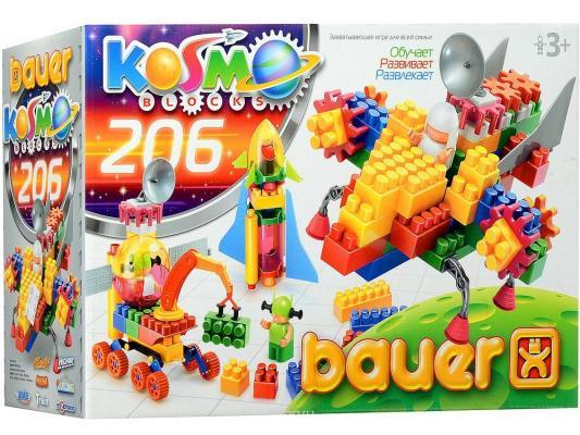 Конструктор Bauer Космос 206 элементов 269 игрушка конструктор bauer avia 319 188083