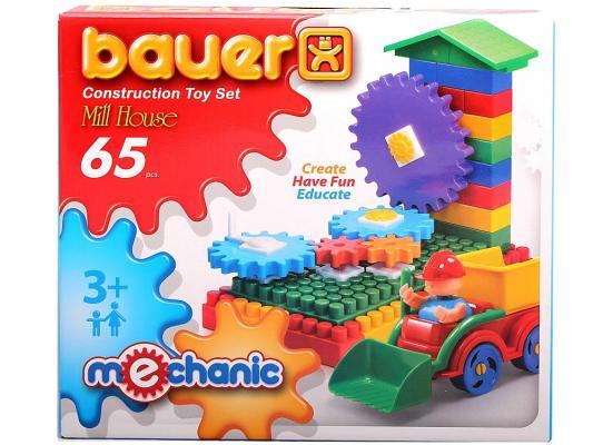 Конструктор Bauer Мельница малая 65 элементов 189 bauer конструктор мельница 251 деталь