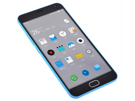 """Смартфон Meizu M2 Note голубой 5.5"""" 16 Гб LTE Wi-Fi GPS M571H"""