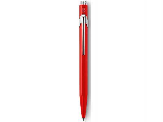Шариковая ручка автоматическая Caran D'Ache Office 849 синий M Classic 849.070_ MTLGB