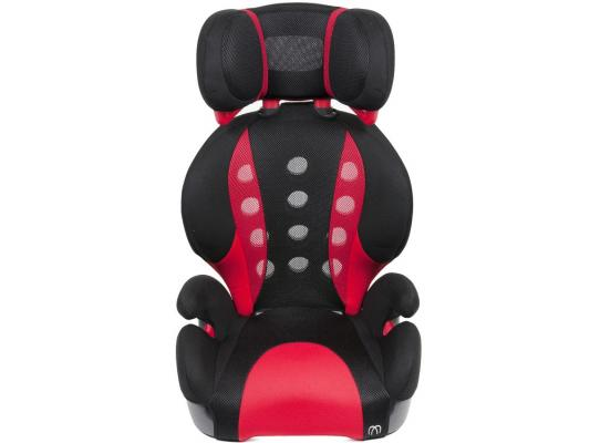 Автокресло Carmate/Ailebebe Saratto Highback Junior Quattro (черно-красное) carmate saratto highback junior quattro