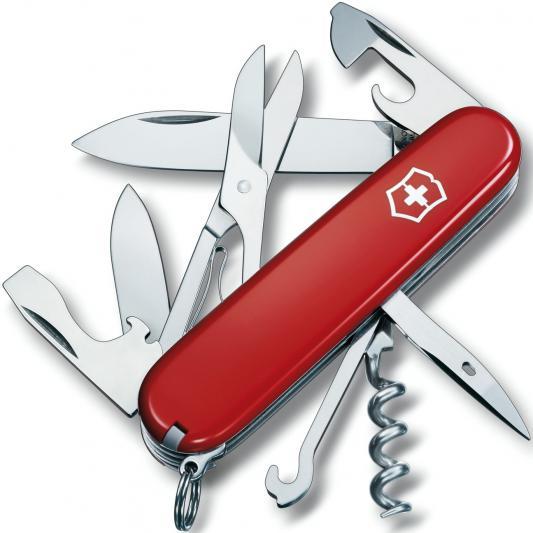 Нож перочинный Victorinox Climber 1.3703 91мм 14 функций красный