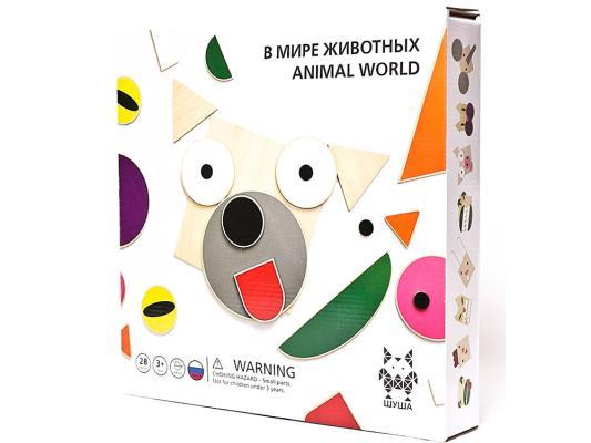 Конструктор Shusha В мире животных 28 элементов 49008