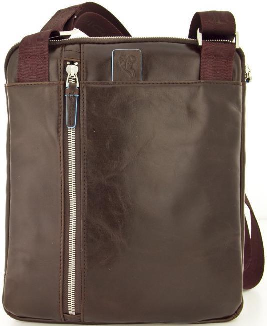 сумка piquadro piquadro pi016bmskq32 Сумка Piquadro Blue Square кожа красный/коричневый CA1816B2/MO