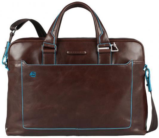 сумка piquadro piquadro pi016bmskq32 Сумка Piquadro Blue Square кожа красный/коричневый CA3335B2/MO