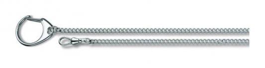Цепочка Victorinox 4.1813 хромированная с кольцом для ключей и карабином 40см