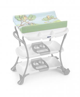 Стол пеленальный с ванночкой Cam Nuvola (цвет 222) cam пеленальный столик cambio мишка cam бежевый