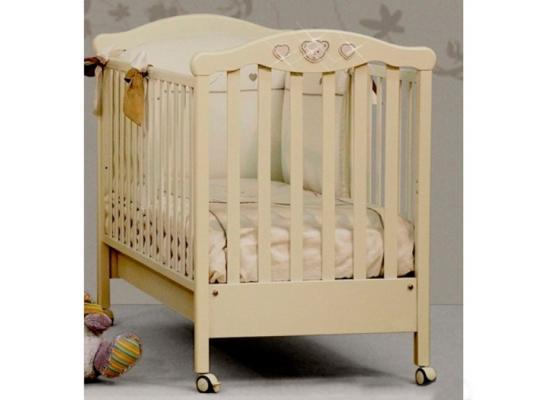 Кроватка Erbesi Abbraccio (слоновая кость)