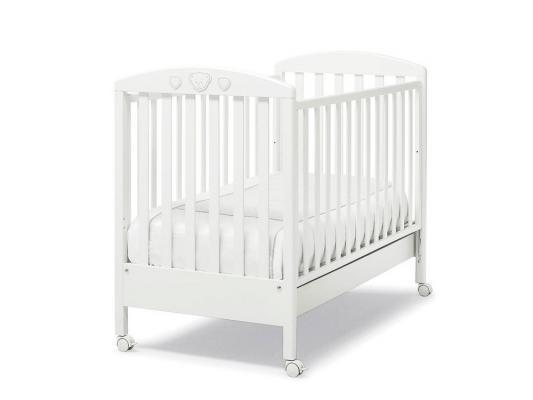 Кроватка Erbesi Abbraccio (белый)  цена