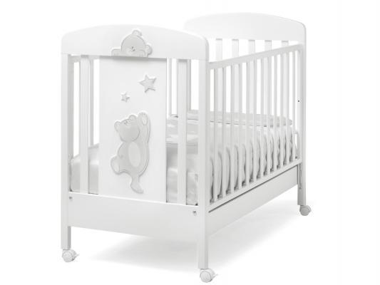 Купить Кроватка Erbesi Cucu (белый), бук, Кроватки без укачивания