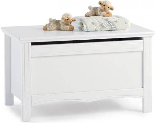 Ящик для игрушек с крышкой Erbesi Sonia дерево белый ящик для игрушек с крышкой erbesi incanto мдф слоновая кость