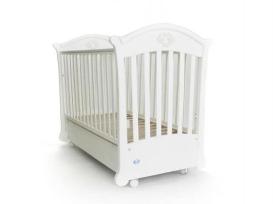 Кроватка с маятником Pali Angelica (белый)