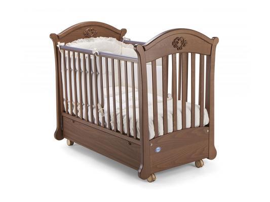 Кроватка с маятником Pali Angelica (орех)