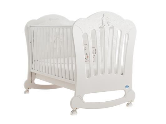 Купить Кроватка-качалка Pali Principe Prestige (белый), бук, Кроватки-качалки