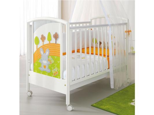 Кроватка Pali Smart Bosco (белый)