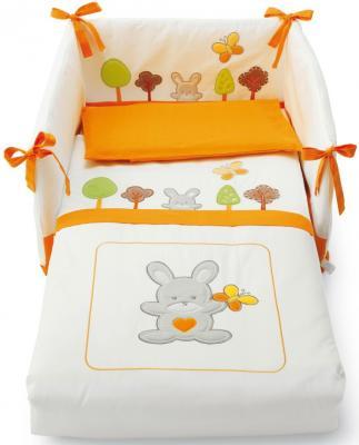 Комплект постельного белья 3 предмета Pali Smart Bosco (оранжевый)