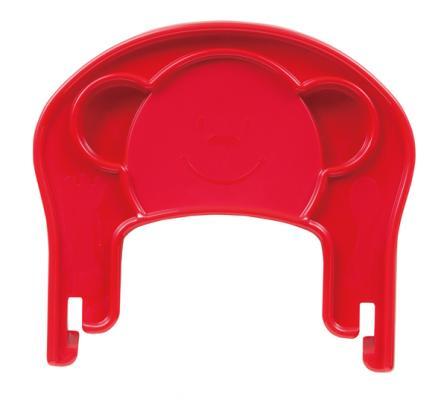 Пластиковый поднос для стульчика Pali Pappy-Re (вишня)