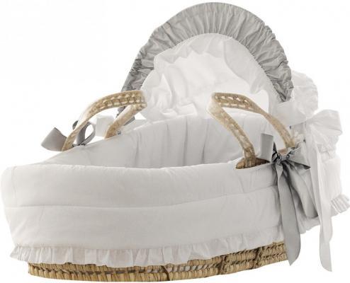 Плетеная люлька Pali Baby Baby (белый)