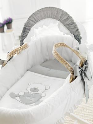Плетеная люлька Pali Baby Baby (белый) от 123.ru