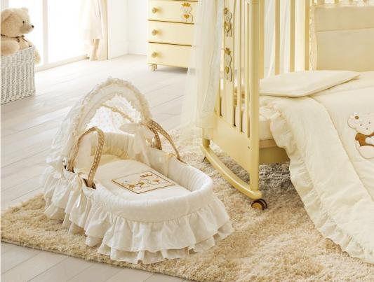Плетеная люлька Pali Caprice Royal (слоновая кость) от 123.ru