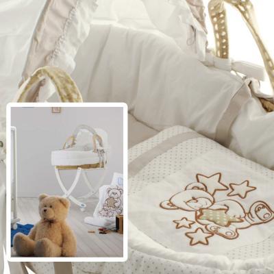 Плетеная люлька Pali Meggie (белый) от 123.ru