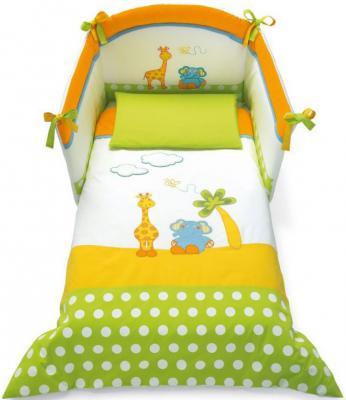 Сменное постельное белье 3 предмета Pali Gigi&Lele (разноцветный)