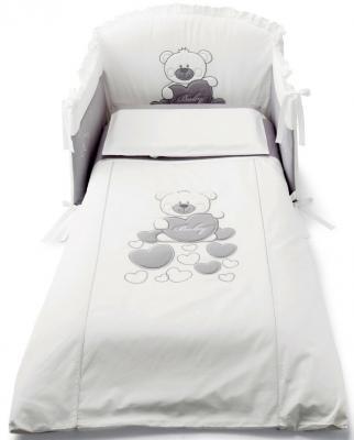 Сменное постельное белье 3 предмета Pali Baby Baby (белый) постельное белье forest bow wow 3 предмета