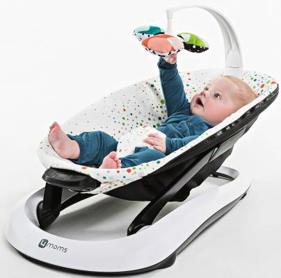 Шезлонг 4moms BounceRoo (multi plush)