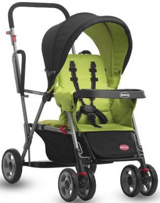 Прогулочная коляска для погодков Joovy Caboose (зеленый)