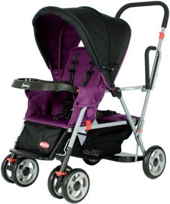 Прогулочная коляска для погодков Joovy Caboose (фиолетовый)