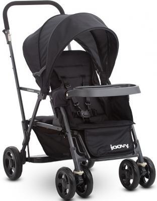 Прогулочная коляска для погодков Joovy Caboose (черный)