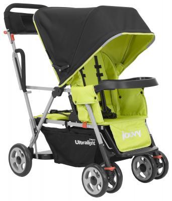Прогулочная коляска для погодков Joovy Caboose Ultralight (зеленый)