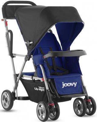 Прогулочная коляска для погодков Joovy Caboose Ultralight (синий)