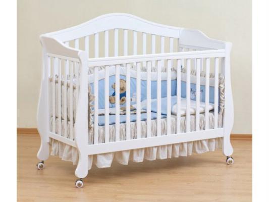 Кроватка-трансформер Giovanni Belcanto Lux (white)